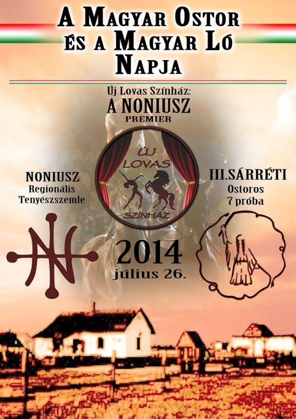 Új lovas színház plakát